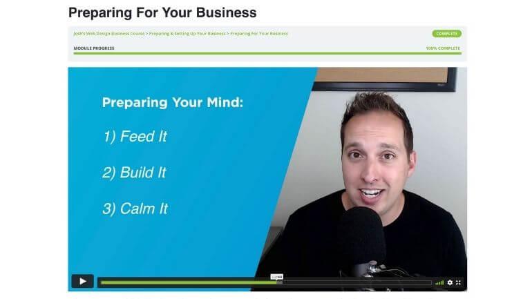 Web Design Business Course Benefits
