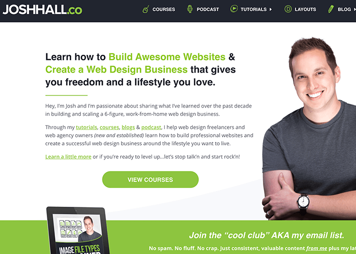 profitable websites selling online courses